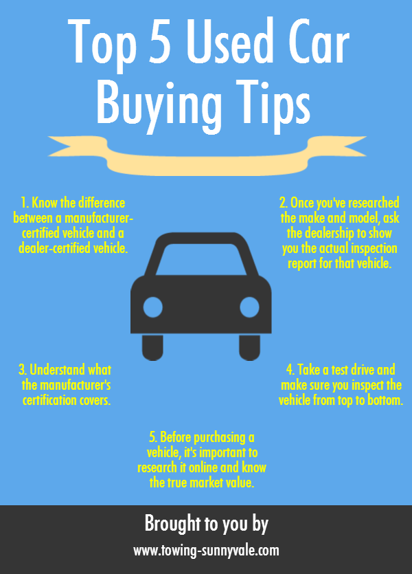 Top 5 Used Car Buying Tips
